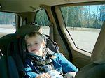 Дълго шофиране с крещящи деца на задната седалка