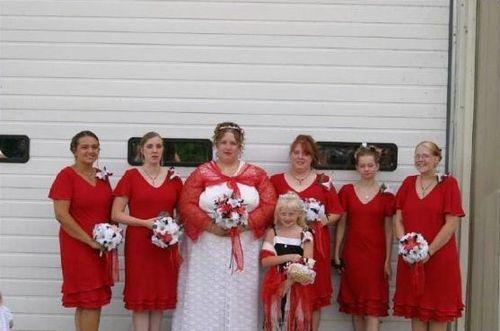 Английска сватба - булката