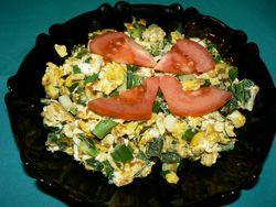 Яйца с лук