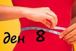 Осми ден на диета