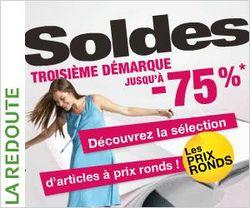 Намаленията в La Redoute