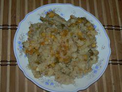 Ориз със царевица и маслини