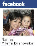Facebook профил на Milena Drenovska